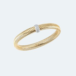 Primavera Flexible Bangle with Diamonds Preview