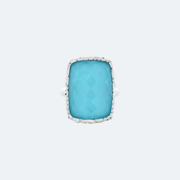 Cushion Turquoise Ring Preview Image