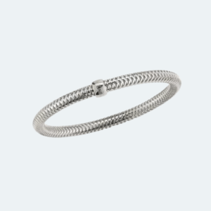 Primavera White Gold Bangle Preview Image