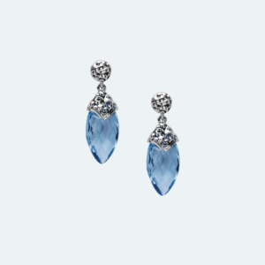 Skye Silver Drop Earrings Preview Image