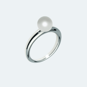 Solitaire Pearl Ring Preview Image